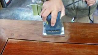 机補修 その1 傷のある箇所の研磨作業から thumbnail
