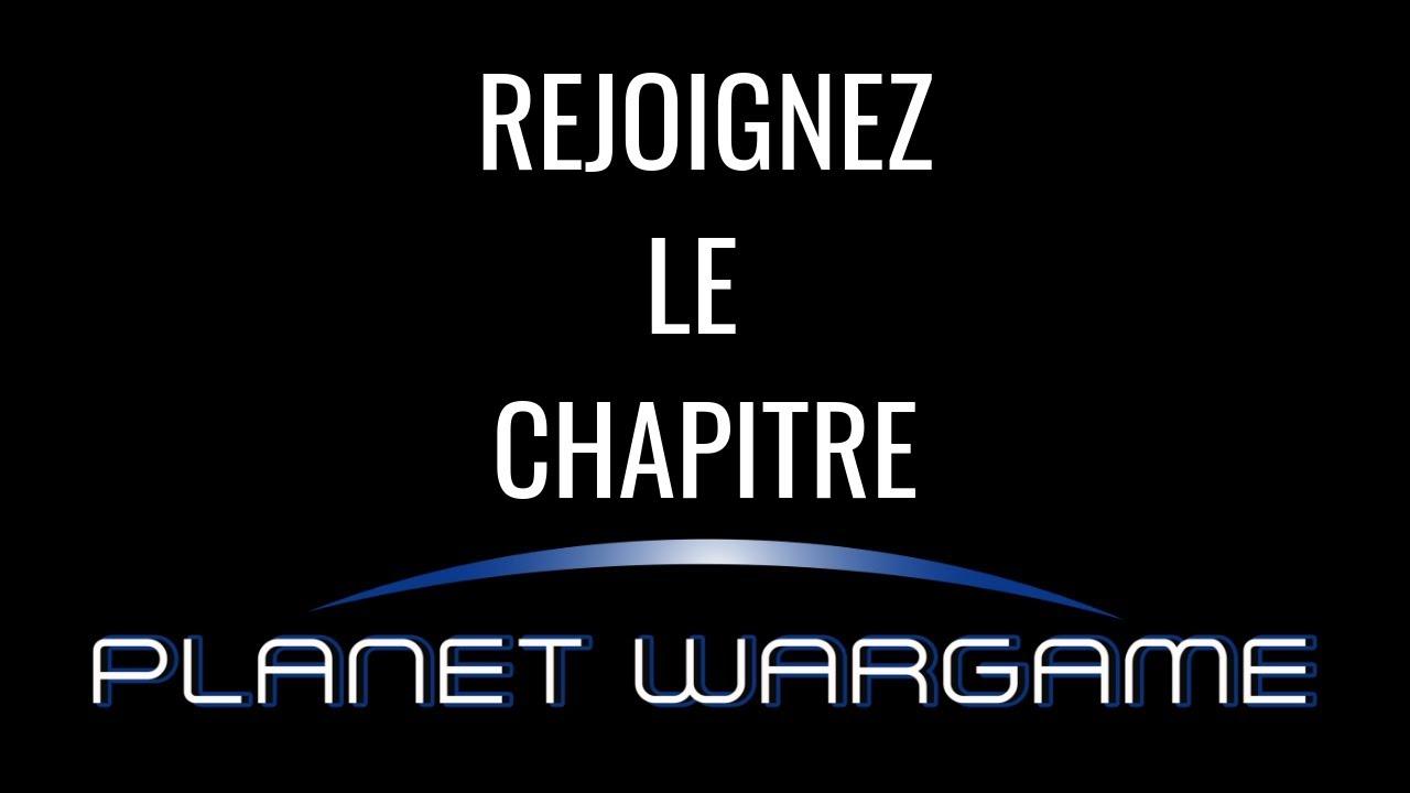 Rejoignez le chapitre Planet Wargame!