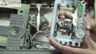 Identifying and repairing faults in a DVD Player (Hindi) (हिन्दी)
