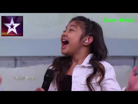 Angelica Hale Loved Talking About Walking Out On The Big America's Got Talent Golden Buzzer 2017