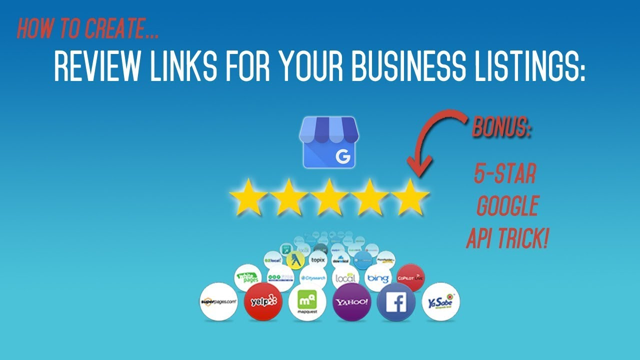Get 5 Star Reviews On Google my Business | Create Review Links