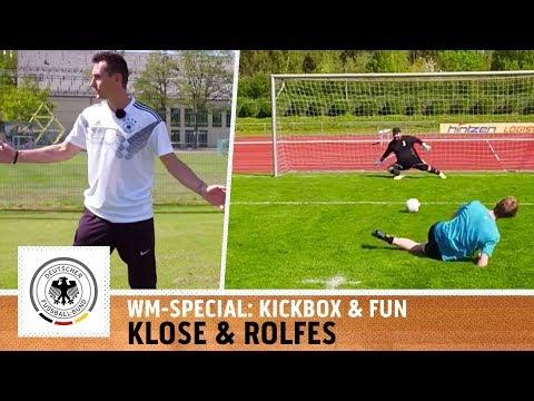 WM-Legende Klose zeigt, wie es geht! | WM-Specials mit Miroslav Klose & Simon Rolfes | Kickbox