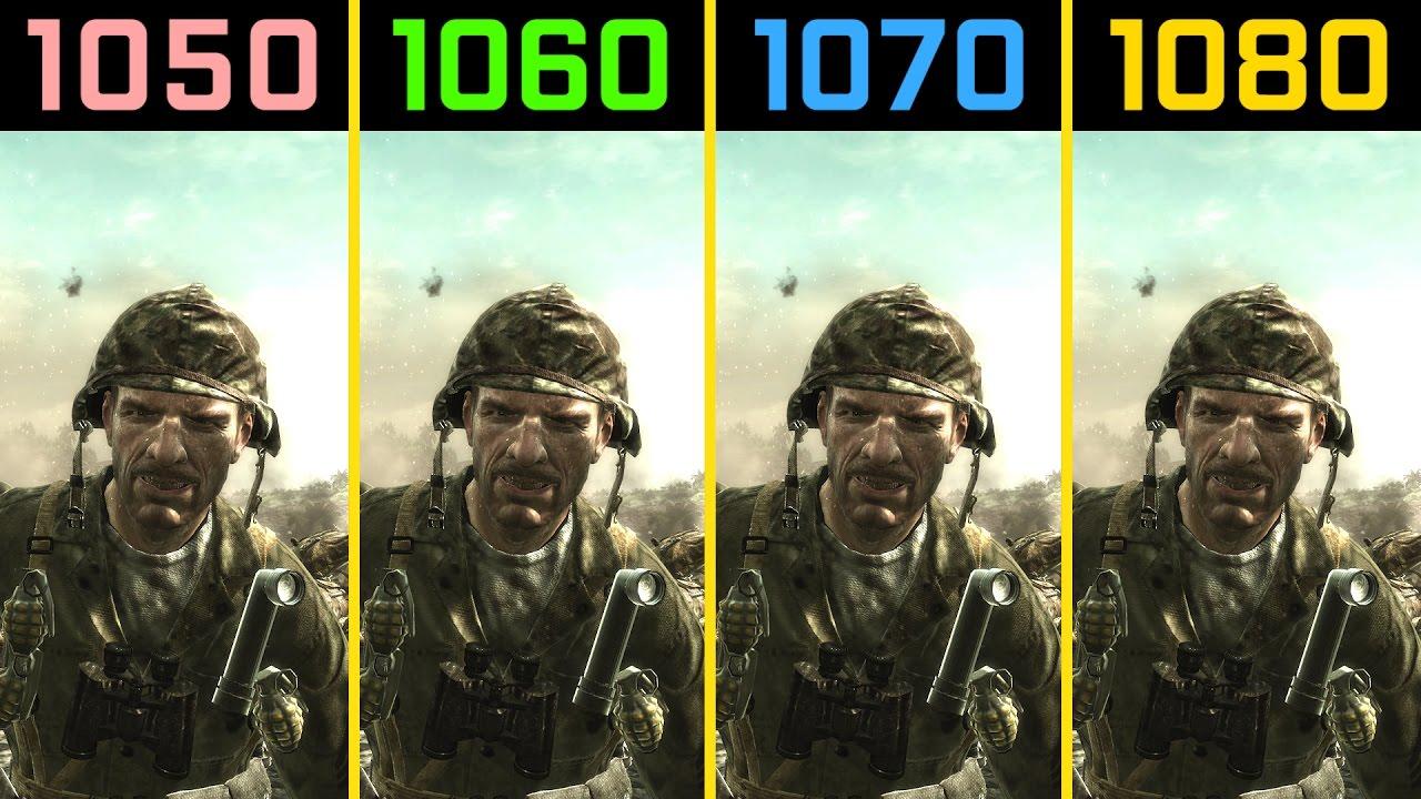 Call of duty world at war gtx 1050 ti vs gtx 1060 vs - Is cod ww2 4k ...