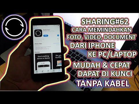 Cara Mengirim Video dari Laptop ke iPhone/iPad Menggunakan Aplikasi VLC.