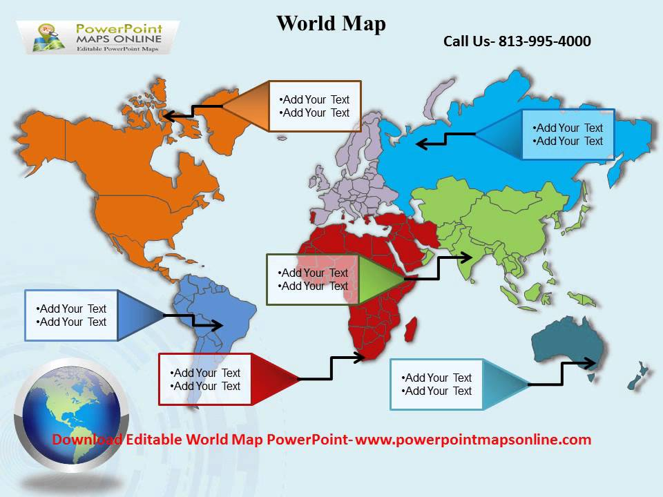 World Map PowerPoint Templates - YouTube