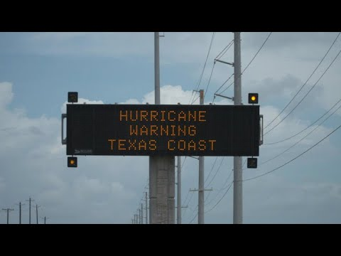 Hurricane Harvey sets its sights on Texas Gulf Coast
