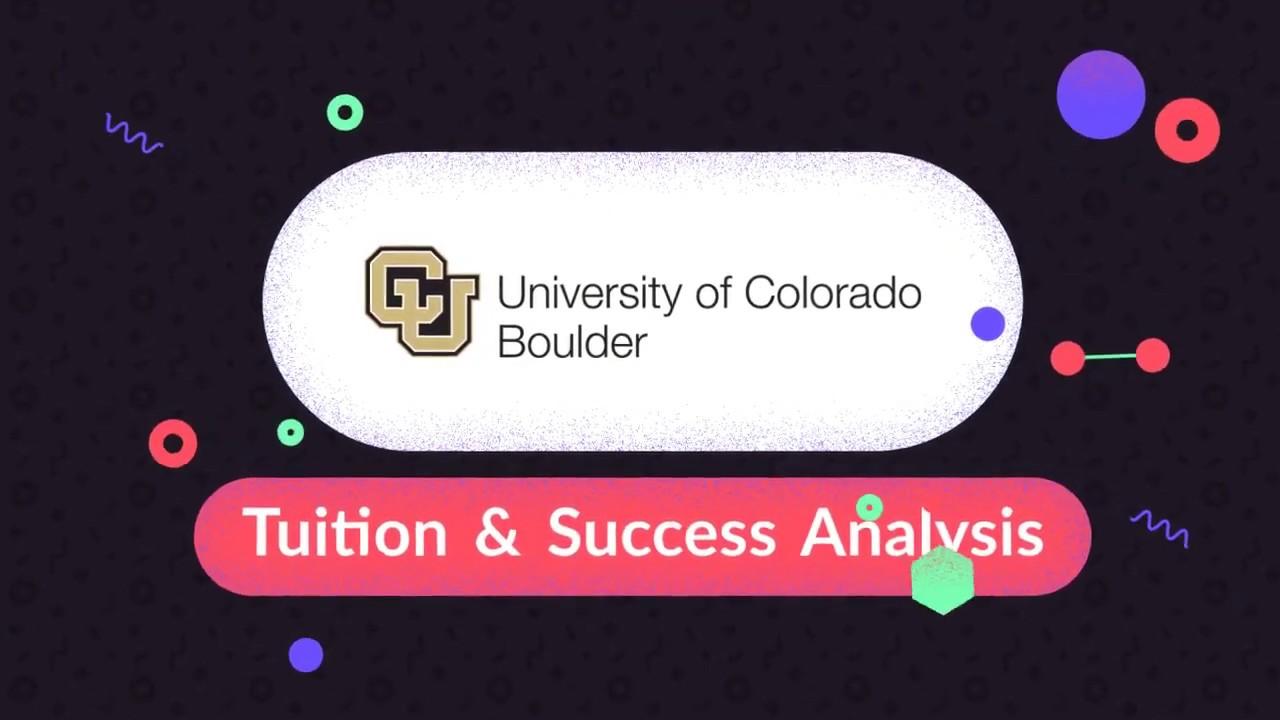 university of colorado boulder tuition