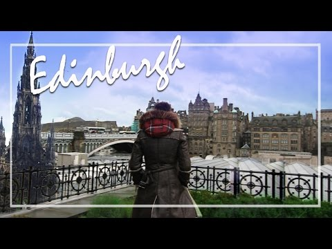 Edinburgh Travel Vlog : REAL Ghosts, Edinburgh Castle, Scotch, Jaime Oliver - MrJovitaGeorge