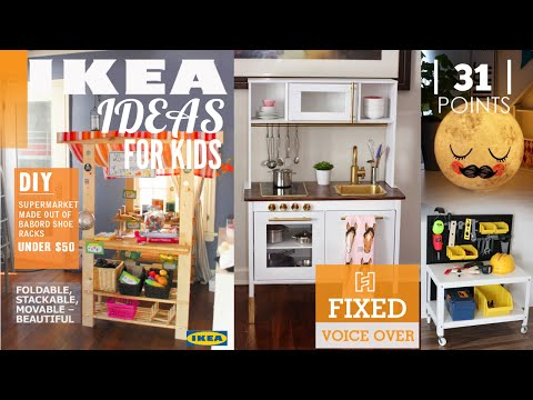 31 IKEA ideas for kid's room [New V.O]