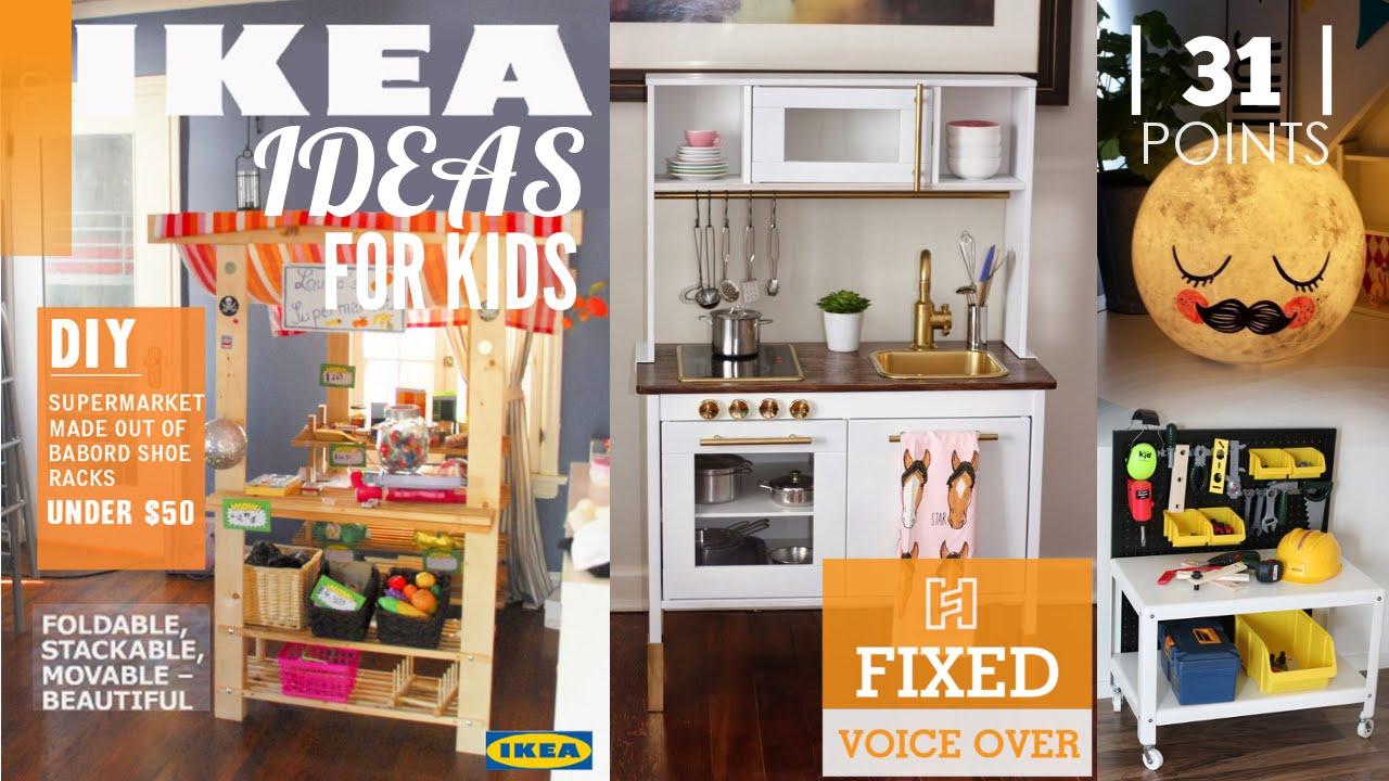 31 ikea ideas for kid s room new v o youtube