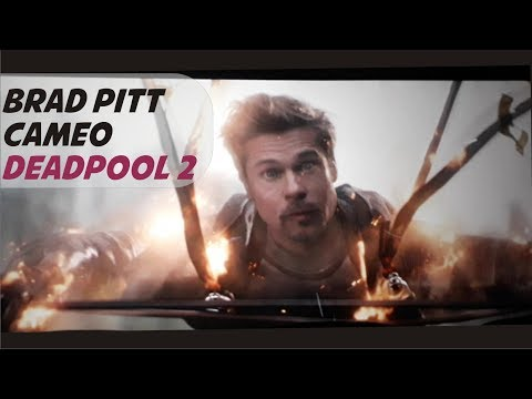 Brad Pitt As Vanisher Cameo In Deadpopol 2 | Samdev Movieclips