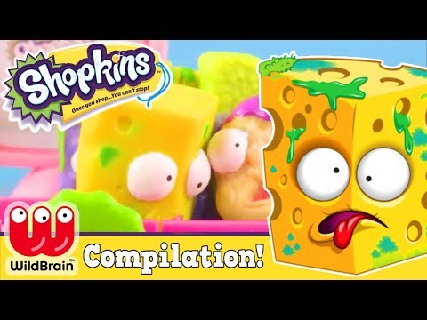 SHOPKINS - ADVENTURE TIME  COMPILATION: Shopkins, Shoppies, Grossery Gang, Toy Play 🌈 RaInBoW PoP 7