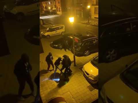 Cinco encapuchados roban las cajas registradoras de Alimerka en Tordesillas