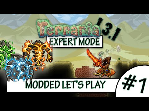 Terraria 1 3 1 Expert Super Modded Let S Play 1 I Fail Mten Let S Play Index