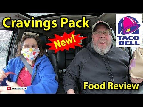 TACO BELL® | Cravings Pack | Taste Test & Review | JKMCraveTV