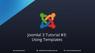 Joomla 3 Tutorial #3: Using Templates