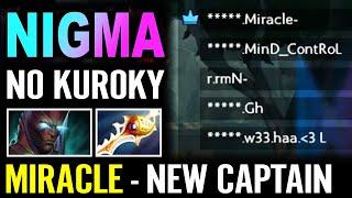 NIGMA NO KUROKY? No Problem! MIRACLE NEW CAPTAIN Terrorblade Rapier Super Carry | DOTA PIT 2020