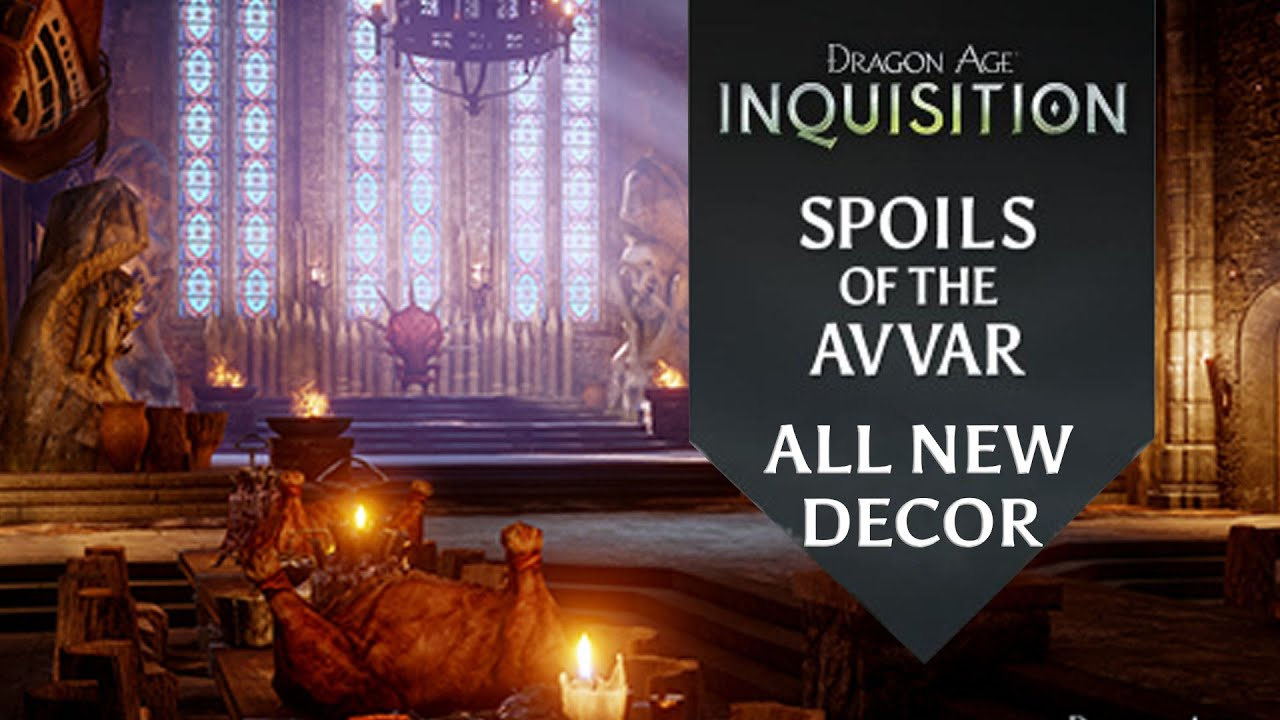 Dragon Age Inquisition Spoils Of The Avvar Dlc All New Decor You
