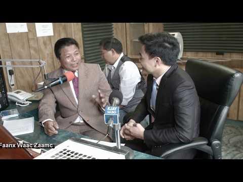 Thai & Vietnam Iu-Mienh Interview & Discussion at Iu-Mienh Radio Station