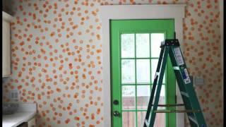 Декор стен своими руками. Стен кухни ! | ๏̯͡๏  Do It YourSelf ๏̯͡๏ |