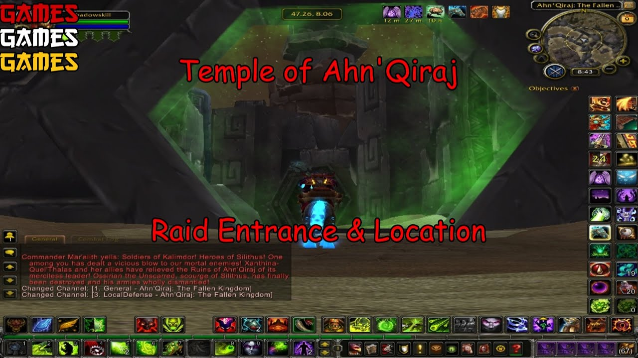 Temple Of Ahn Qiraj Entrance