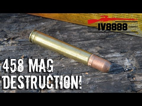 458 Winchester Magnum Destruction!