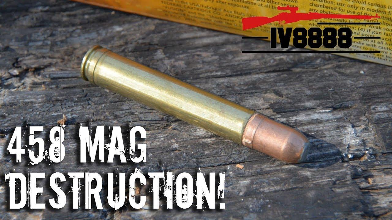 458 Winchester Magnum Destruction!