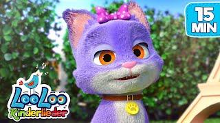 Die Katze   Das Kätzchen Bewegungslieder zum Mitsingen   LooLoo Kinderlieder