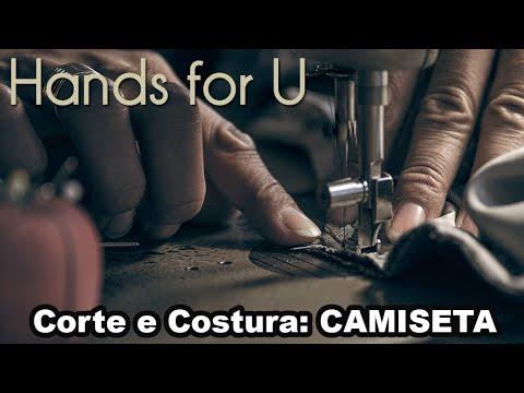 (INICIANTE) CORTE - COSTURA - DICAS: CAMISETA - MANEQUIM CASEIRO #HANDSFORYOU