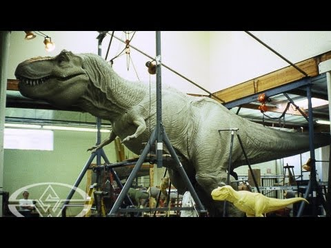 JURASSIC PARKs T-Rex - Sculpting a Full-Size Dinosaur