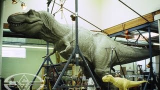 JURASSIC PARK's T-Rex - Sculpting a Full-Size Dinosaur