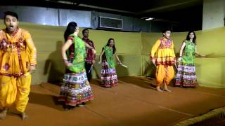 Dandiya Dance with new song flavor (Indian festival dance)