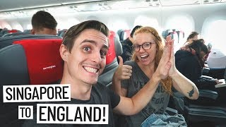 longest flight we ve ever taken singapore england