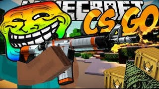 CS:GO В MINECRAFT!(Наша карта в Minecraft 1.7.10)