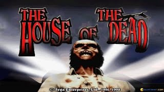 The House of the Dead gameplay (PC Game, 1998)