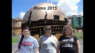 Our trip to Rome 2015