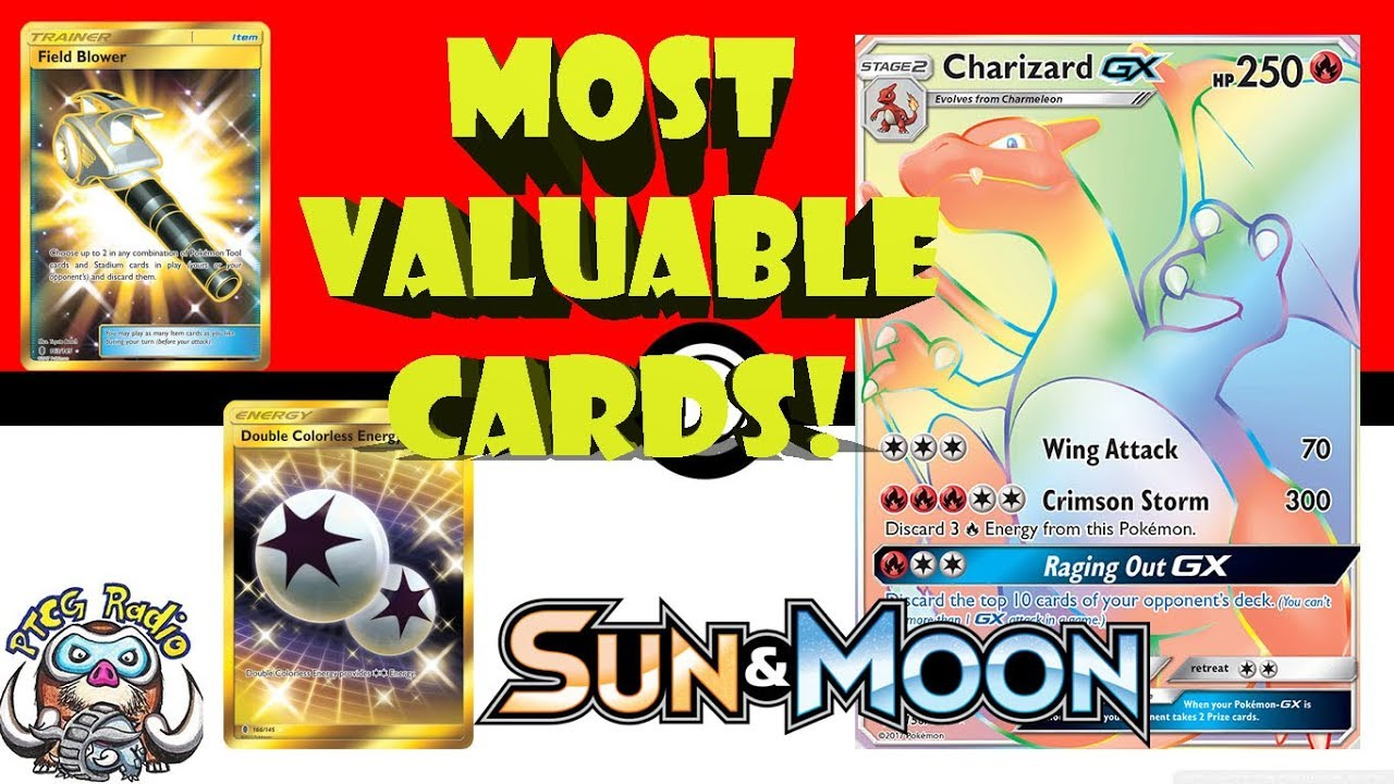 3a7af7a3b9a5a Top 10 Most Valuable Pokemon Cards (Sun and Moon) - YouTube