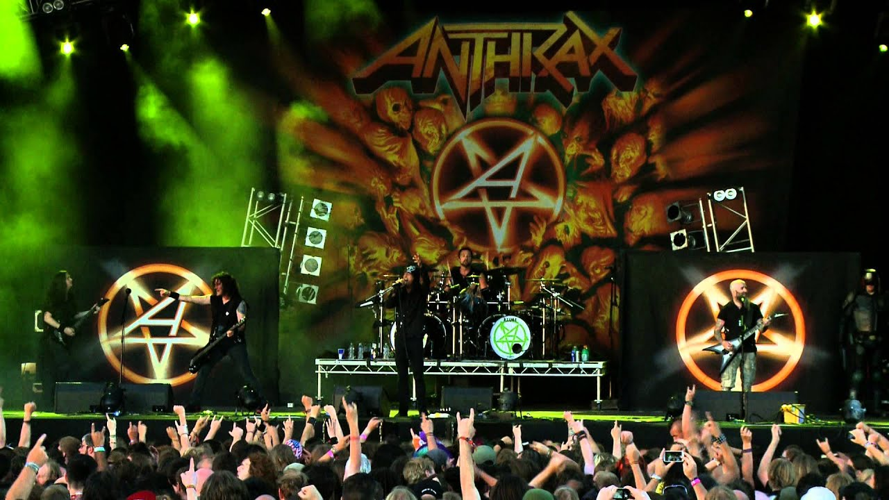 "Karakter Komik di Balik Lagu ""I Am The Law""-nya Anthrax"