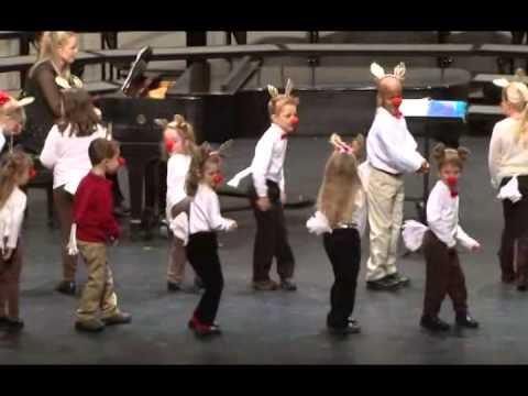 The Reindeer Pokey by the RVCC Sibling Choir