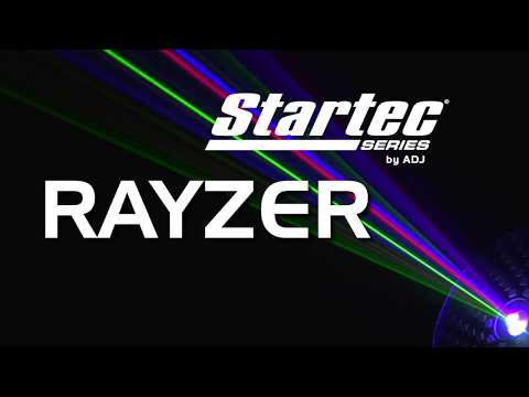 Effet RAYZER ADJ Led + laser vidéo