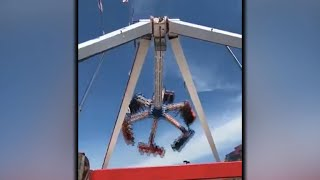 The maker of the ride that killed one person and injured seven othe...