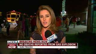 Sun Prairie residents forced to leave homes after explosion