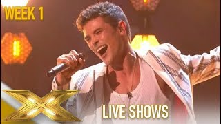 Jonny Labey: Actor Amazes Simon Cowell With Incredible Performance!| The X Factor 2019: Celebrity