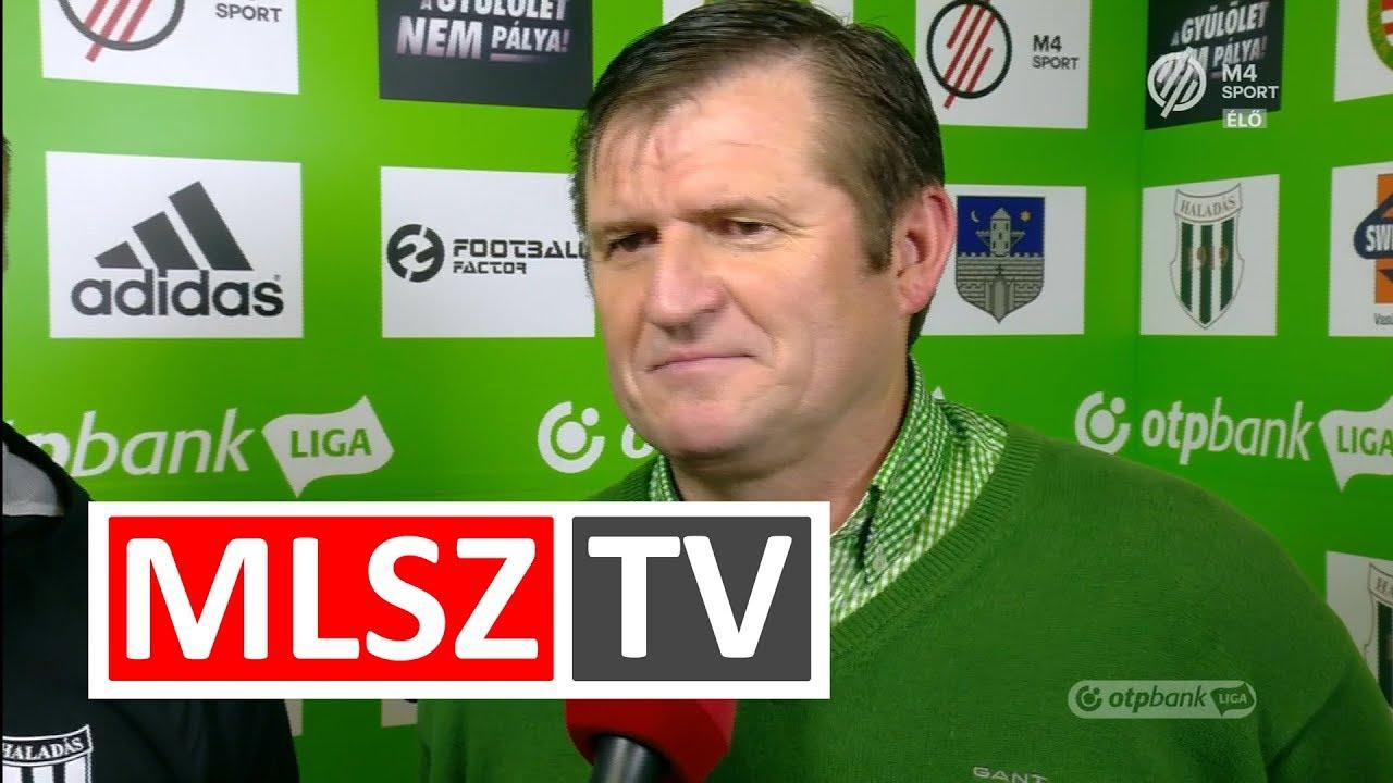 Edzői értékelések a Swietelsky Haladás - Ferencvárosi TC mérkőzésen