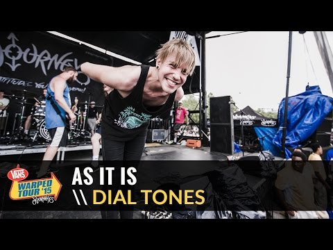 As It Is - Dial Tones (Live 2015 Vans Warped Tour)
