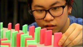 I'm a HARDCORE Domino Builder (Mockumentary)
