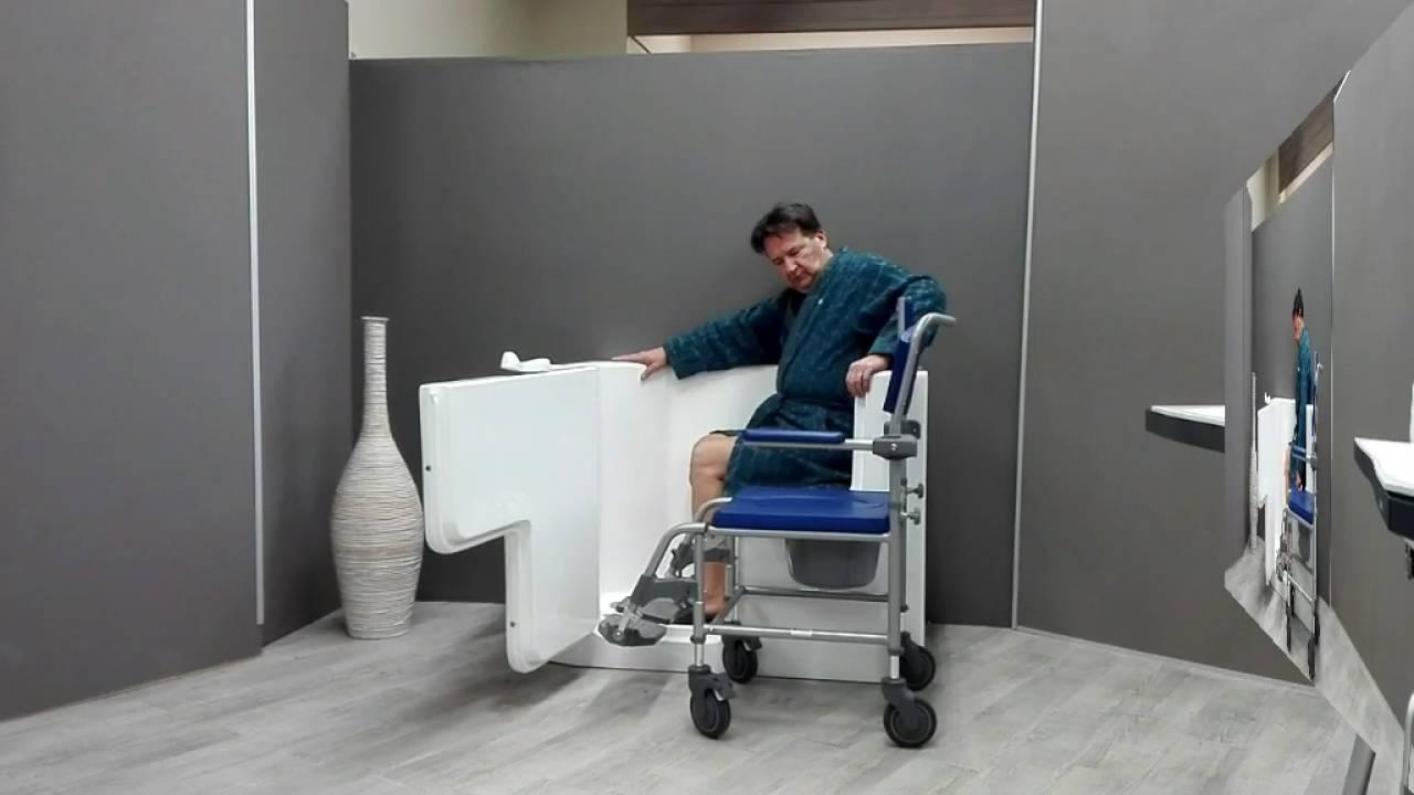 Vasca da bagno per disabili youtube