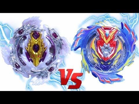 BLOODY LONGINUS vs ULTIMATE GOD VALKYRIE | Beyblade Burst Super Z Chouzetsu ベイブレードバースト 超ゼツ