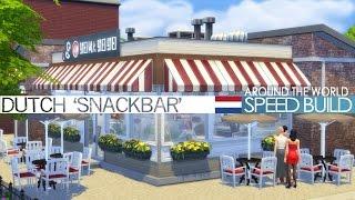 The Sims 4 Speed Build - Dutch 'Snackbar' (Around the World)