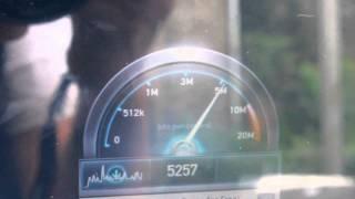 KaSat / Tooway : test de débit via la connexion SkyDSL2+